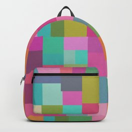 Mid-Century Modern Colorful Geometric 2 Backpack