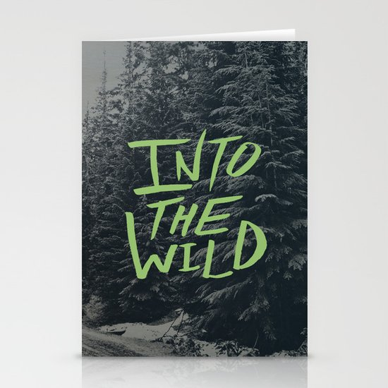 Into the Wild: Lost Lake Stationery Cards