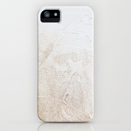 Gold Glitter Detail iPhone Case