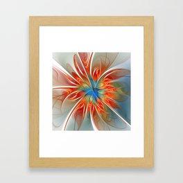 just flames -5- Framed Art Print