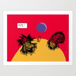 Tricks Art Print