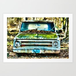 1967 Chevy Truck Art Print