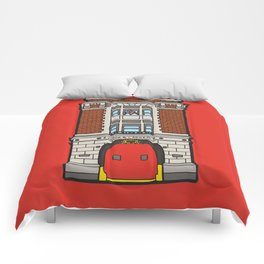 Ghostbusters Fire Station Comforters