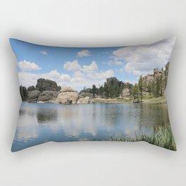 Sylvan Lake in the Black Hills Rectangular Pillow