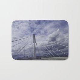 Port Mann Bridge Vancouver BC Bath Mat