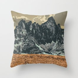 Tombstone Territorial Park Throw Pillow