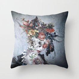 Dark Queen Throw Pillow