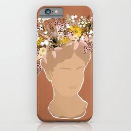 Guadalupe Flora iPhone Case
