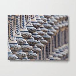 Detail #1 - Plaza de Espanha - Sevilla Metal Print