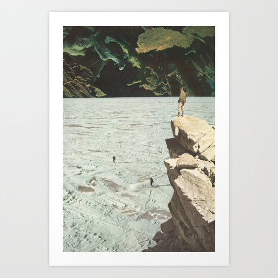 walk out to winter Art Print