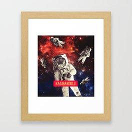 SPACE - KALIBANDULU Framed Art Print