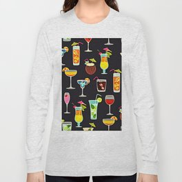 It's 5 O'Clock Somewhere Cocktails Long Sleeve T-shirt
