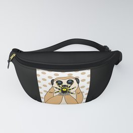 Hungry Squirrel Fanny Pack
