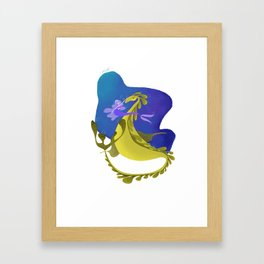 The Sea Dragon Framed Art Print