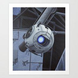 Robot (2012) Art Print
