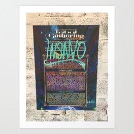 Festival Poster Art Print