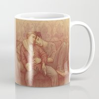 johnlock Mugs featuring calm by br0-harry