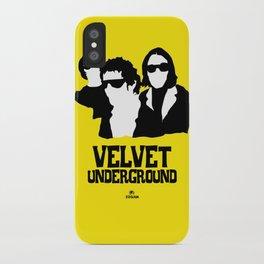 VELVET UNDERGROUND Y iPhone Case