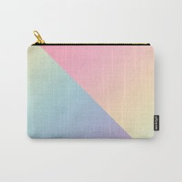 Geometric abstract rainbow gradient Carry-All Pouch