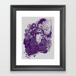 Look At The Light Framed Art Print