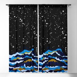 Night of Storm Blackout Curtain