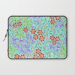 Caribbean Filigree Floral Laptop Sleeve