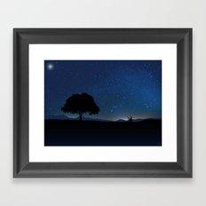 Star Watcher  Framed Art Print