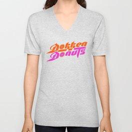 Dokken Donuts Unisex V-Neck