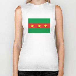 Ewe people ethnic flag Biker Tank