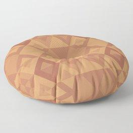 Tringular pattern Floor Pillow