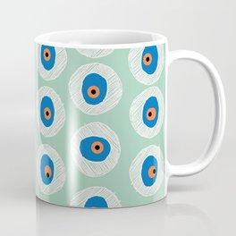Evil Eye Charm - Hemlock  Coffee Mug