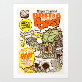 PredaPOPS! Art Print