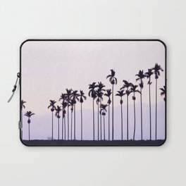 Palm Trees On Pink Sky Laptop Sleeve