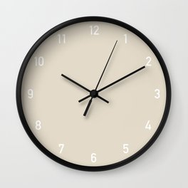 Numbers Clock - Bone Wall Clock