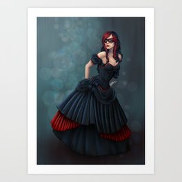 Dress Her Up In Fairy Tales Art Print