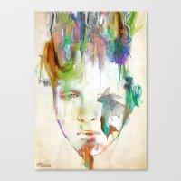 archan nair Canvas Prints featuring Organic by Archan Nair