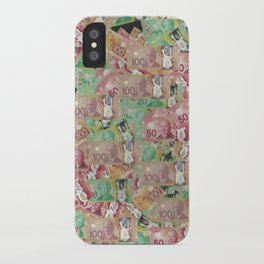 Bed of Money iPhone Case