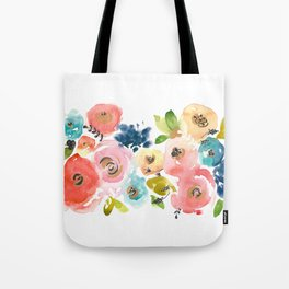 Floral POP #2 Tote Bag