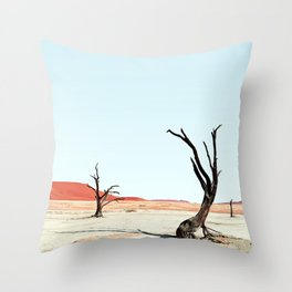 Deadvlei III Throw Pillow