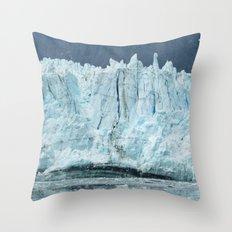 the marjorie glacier.  Throw Pillow