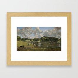 John Constable Wivenhoe Park, Essex 1816 Painting Framed Art Print