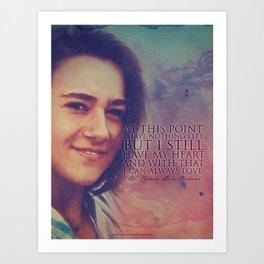 Blessed Chiara Luce Badano Art Print