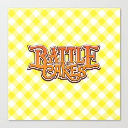 Battlecakes: a snack-sized RPG Canvas Print