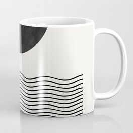 Modern Waves Coffee Mug