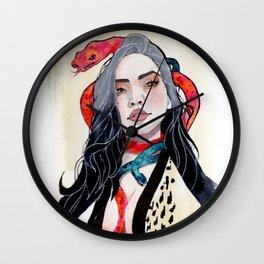 Goddess of Temptation Wall Clock