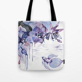 Jungle Orchids Tote Bag