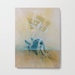 Couple Metal Print