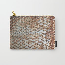 Rusty Grate Carry-All Pouch