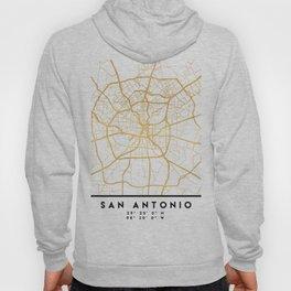 SAN ANTONIO TEXAS CITY STREET MAP ART Hoody