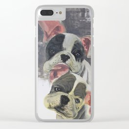 French bullfighting poppies Clear iPhone Case